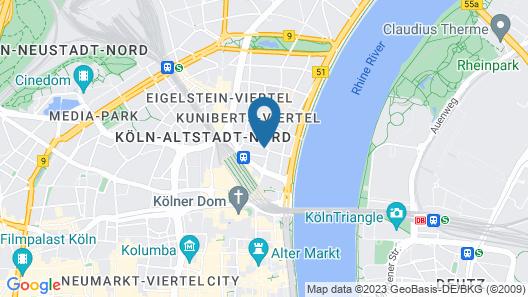 Hotel Müller Map