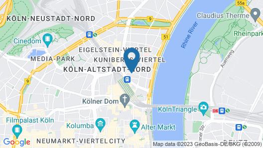 Brandenburger Hof Map