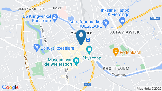 Parkhotel Roeselare Map