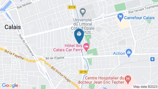 Campanile Calais Map