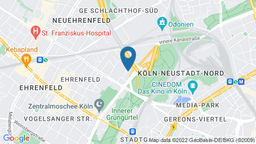 FeWo Köln Map