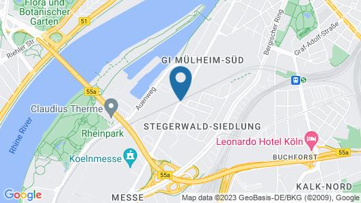 Centro Hotel Ayun Map