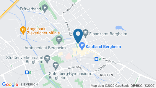 Parkhotel Bergheim Map