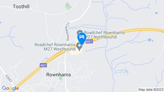 Days Inn by Wyndham Southampton Rownhams Map