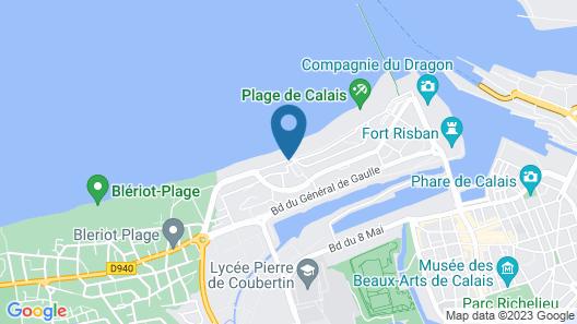 Hôtel de la Plage Map