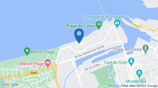 Hotel Résidence du Golf Map