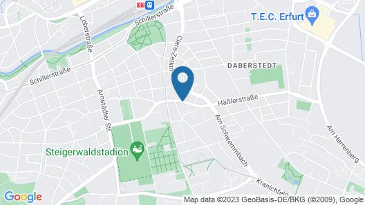 Victor's Residenz-Hotel Erfurt Map