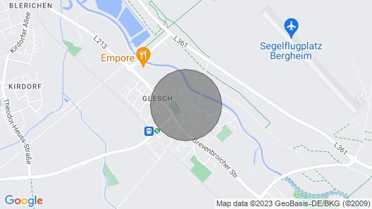 Apartment Glesch near Cologne / Düsseldorf Map