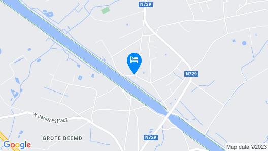 B&B Het Zummerheem Map
