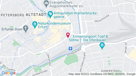 B&B Hotel Erfurt Map