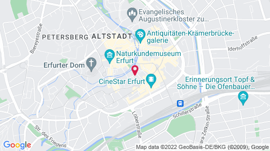 ibis Erfurt Altstadt Map