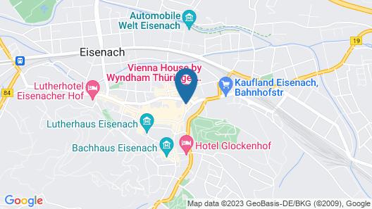 Vienna House Thüringer Hof Eisenach Map