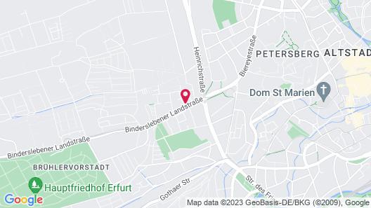 Hotel Gartenstadt Map