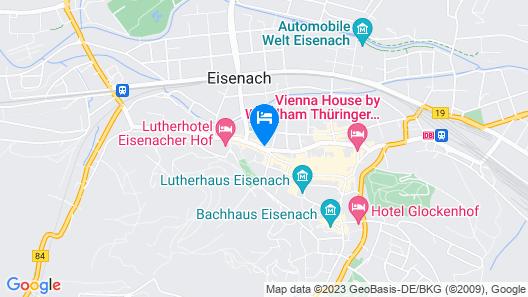 B&B Hotel Eisenach Map