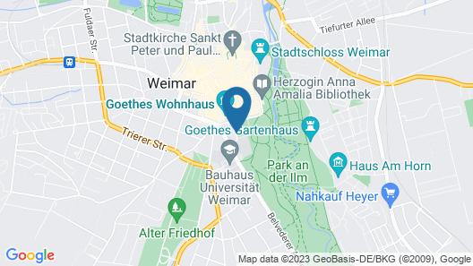 Dorint Am Goethepark Weimar Map