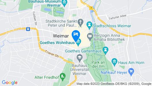 Hotel Am Frauenplan Map