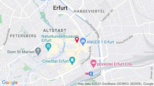 Mercure Hotel Erfurt Altstadt Map