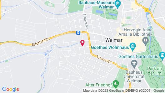 Das Kleine Hotel Weimar Map