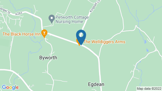 The Welldiggers Arms Map