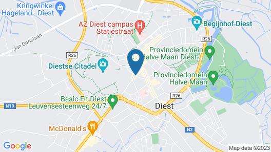 Hotel De Franse Kroon Map