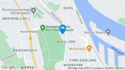 MiamarMaxipartments - Trakehner Straße Map