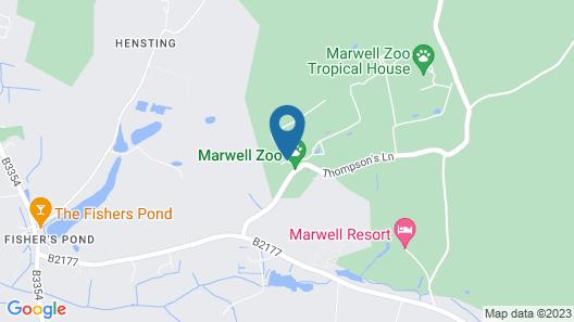 Marwell Hotel Map