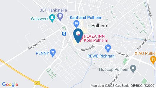 Ascari Parkhotel Map