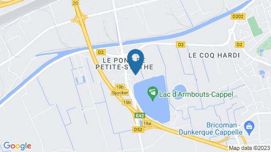 Hotel Du Lac Map