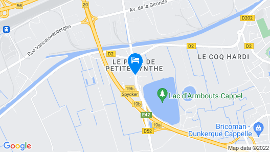 Campanile Dunkerque Armbouts Map