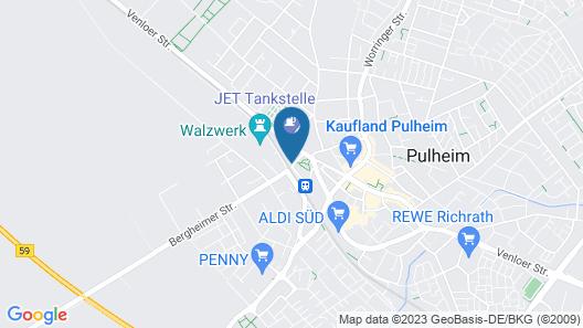 Hotel Vintage Map