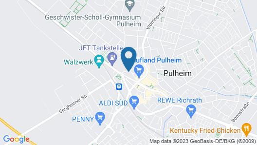 Hotel ZeitZeichen Map