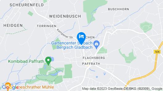 Luxus Wohnung nähe Köln CityMesse Map