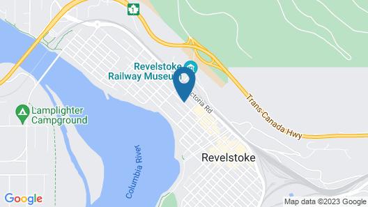 Revelstoke Lodge Map
