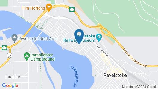 Alpine Inn & Suites Map