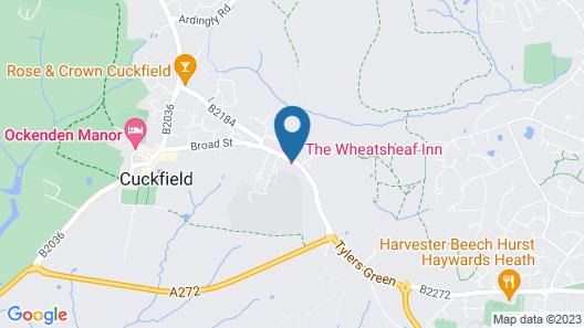 The Wheatsheaf Inn Map