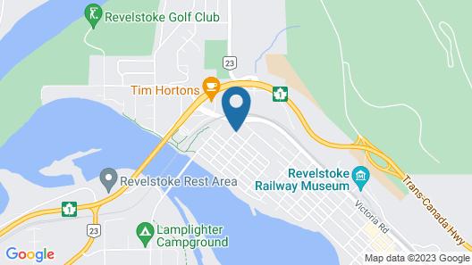Days Inn & Suites by Wyndham Revelstoke Map