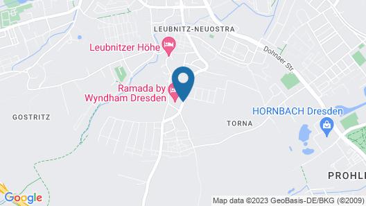 Ramada by Wyndham Dresden Map