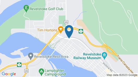 Super 8 by Wyndham Revelstoke BC Map