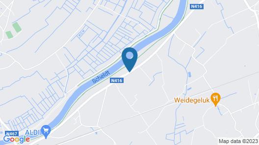 Cosy Cottage Dépendance Map