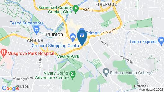 Taunton House Hotel Map