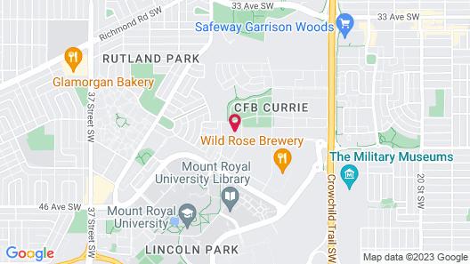 The Inn at Officers Garden Map