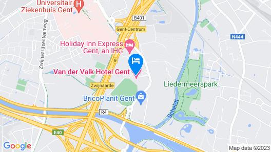 Van der Valk Hotel Gent Map