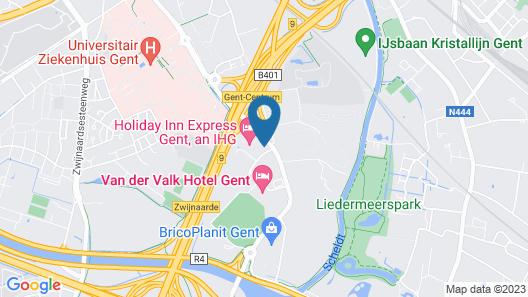 Residence Inn by Marriott Ghent Map