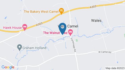 Walnut Tree Hotel Map