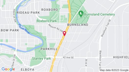 Days Inn by Wyndham Calgary South Map