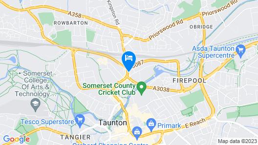 Royal Ashton Hotel Map