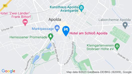 Hotel am Schloß Apolda Map