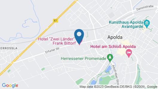 Hotel Zwei Länder  Map
