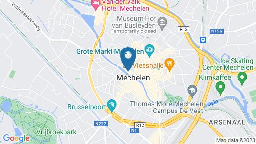 Hotel Vé Map