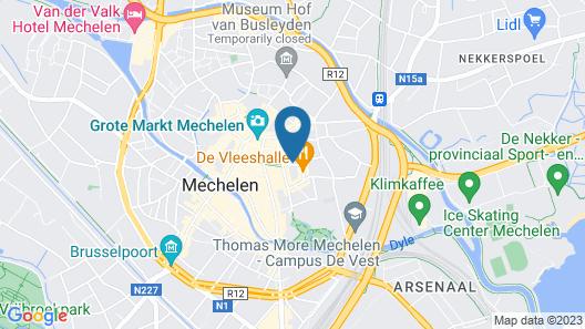 Vixx Hotel Map